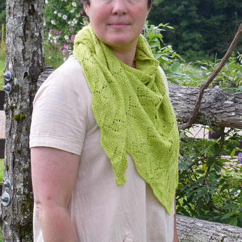 Love Shawlette - Miss Babs Project