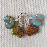 Maple Leaves - Miss Babs Stitch Markers