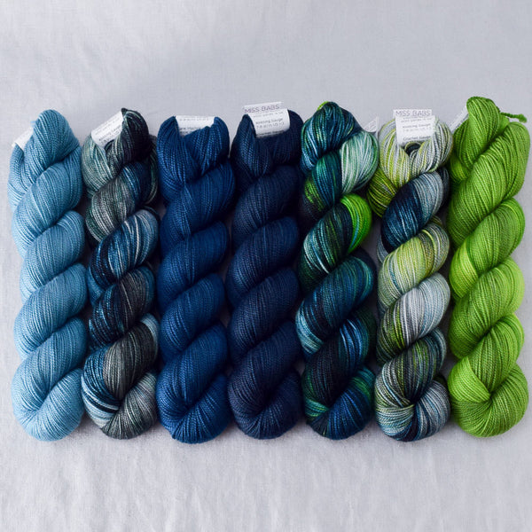 Mariana Trench - Miss Babs Yummy 2-Ply Fade Set