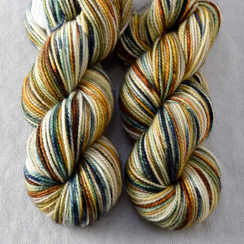 Meadow Brown - Miss Babs 2-Ply Toes yarn