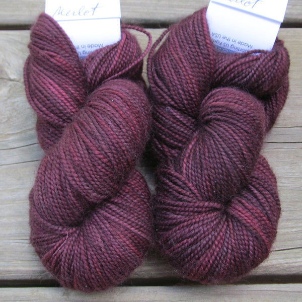 Merlot - 2-Ply Toes