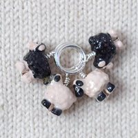 Mixed Flock of Sheep - Miss Babs Stitch Markers