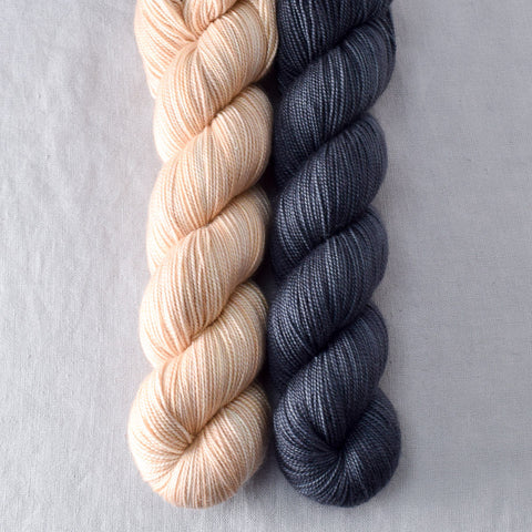 Muslin, Pewter - Miss Babs 2-Ply Duo