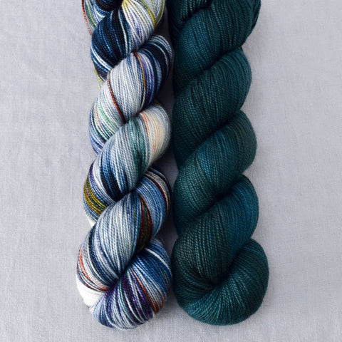 Mystery Girl, Topaz - Miss Babs 2-Ply Duo
