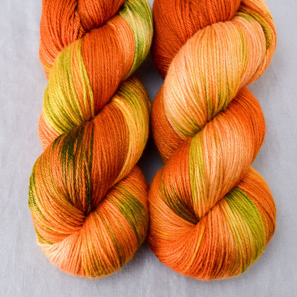 Nasturtiums - Miss Babs Big Silk yarn