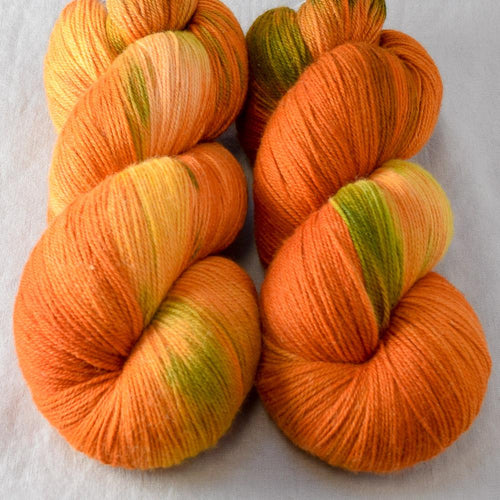 Nasturtiums - Miss Babs Killington yarn