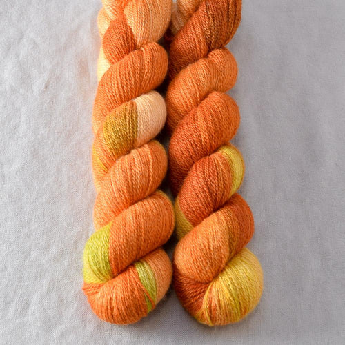 Nasturtiums - Miss Babs Yet yarn