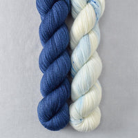 Navy, Page Turner - Miss Babs 2-Ply Duo
