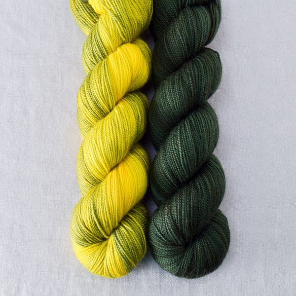 Nori, Swamp Thang - Miss Babs 2-Ply Duo