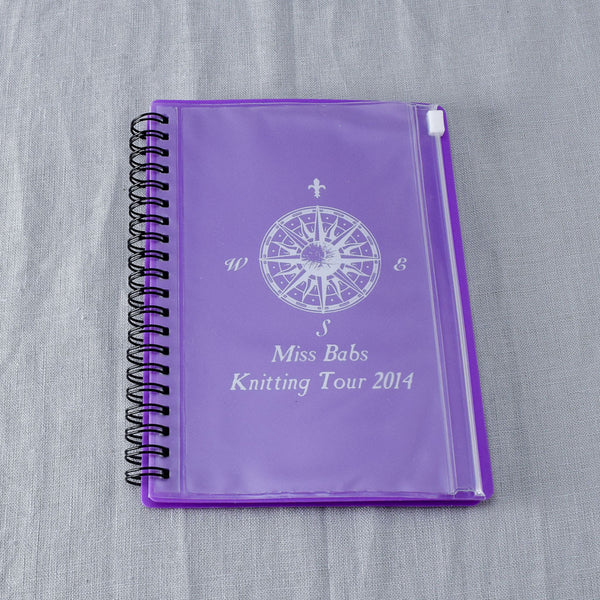 Miss Babs Knitting Tour 2014 Travel Notebook