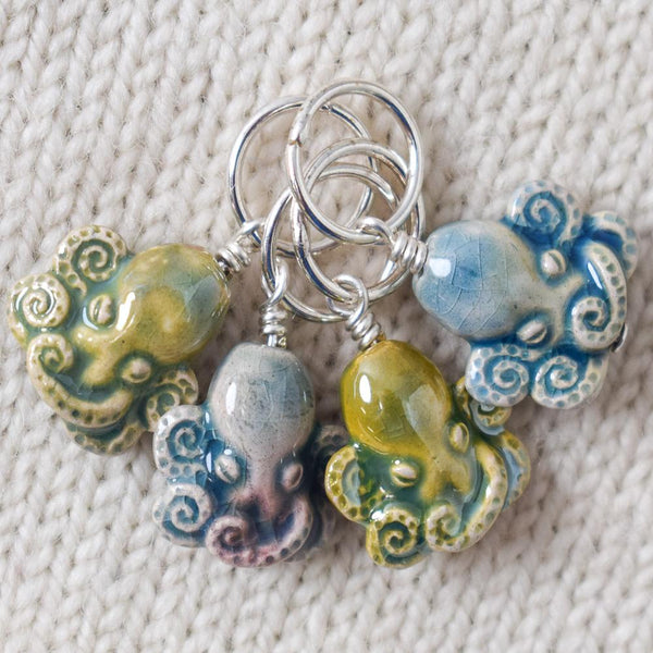 Octopus Stitch Markers