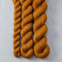 Old Gold Partial Skeins - Miss Babs Katahdin yarn