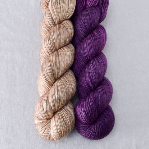 Parchment, Spiked Punch - Miss Babs 2-Ply Duo