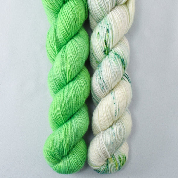 Peas in a Pod, Muddled - Miss Babs 2-Ply Duo