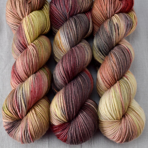Petrified Forest - Miss Babs Kunlun yarn