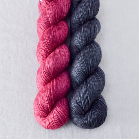 Pewter, Zinfandel - Miss Babs 2-Ply Duo