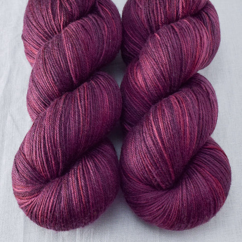 Plum - Miss Babs Yowza yarn