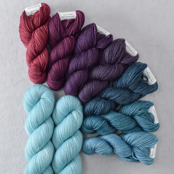Plum Harvest - Miss Babs Garden Variety Set yarn
