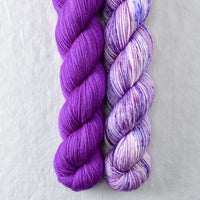 Purple Joy - MDSW 2020, Violaceous - Miss Babs 2-Ply Duo