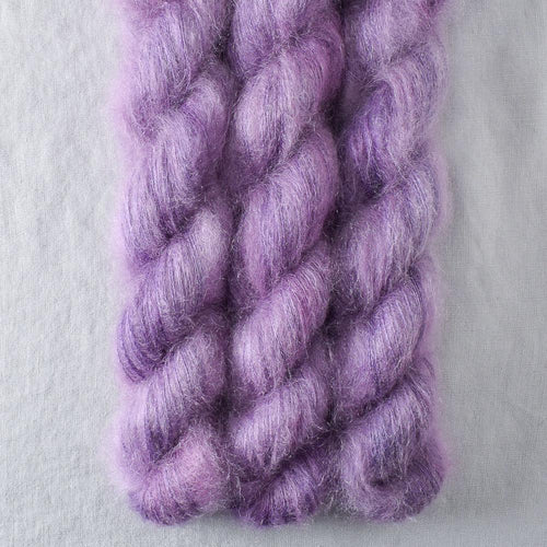 Purple Urchin - Miss Babs Moonglow yarn