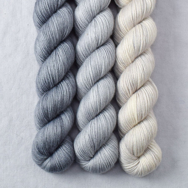 Quicksilver, Slate, White Peppercorn - Miss Babs Yowza Mini Trio