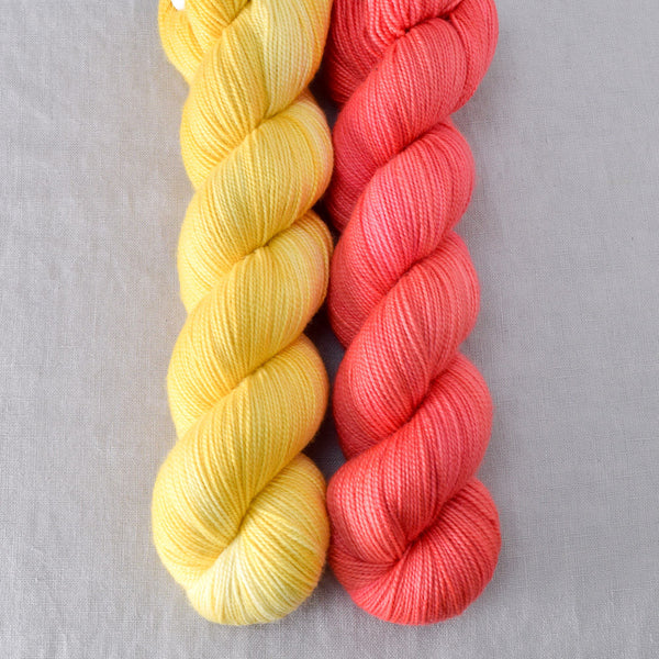 Quince Blossom, Sunny - Miss Babs 2-Ply Duo