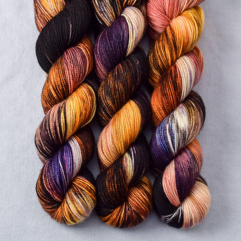 Rainbow Jasper - Miss Babs Yummy 2-Ply yarn
