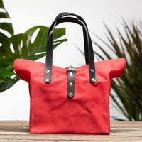 Hibiscus Red Bag No. 2 - On the Go Bag
