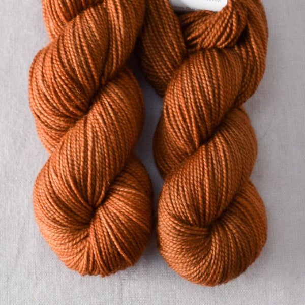 Roasted Pumpkin - Miss Babs 2-Ply Toes yarn