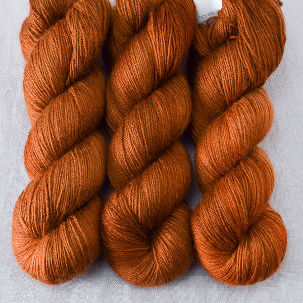 Roasted Pumpkin - Miss Babs Northumbria Fingering Yarn