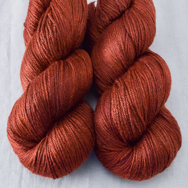 Russet - Miss Babs Big Silk yarn