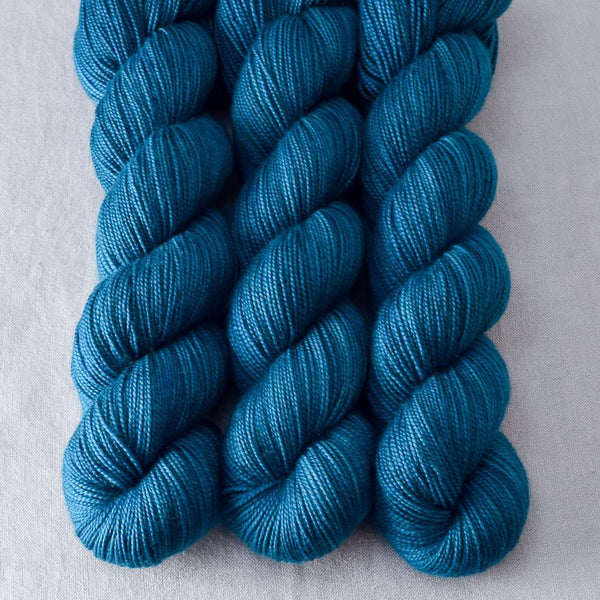 Sea Teal - Miss Babs Yummy 2-Ply yarn