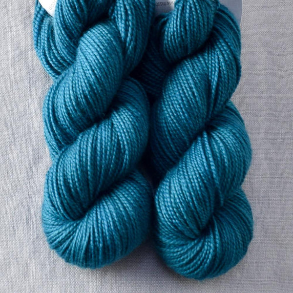 Sea Teal - Miss Babs 2-Ply Toes yarn