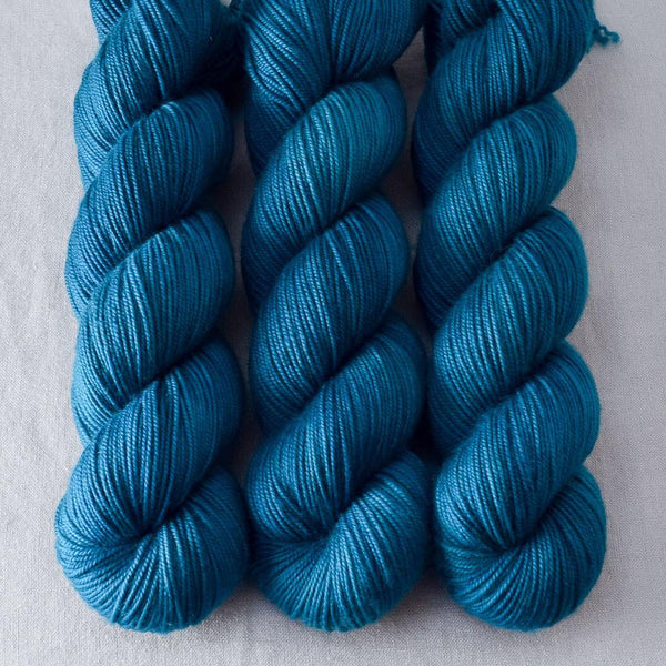 Sea Teal - Miss Babs Yummy 3-Ply yarn