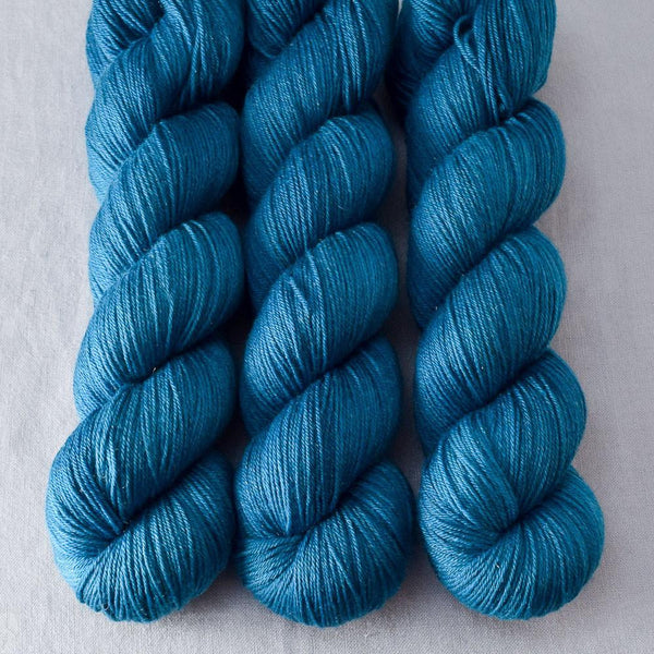 Sea Teal - Miss Babs Tarte yarn