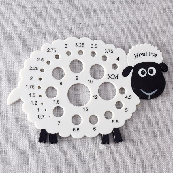 HiyaHiya Sheep Needle Gauge - Miss Babs Notions