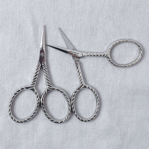 Silver Vintage Scissors - Miss Babs Notions