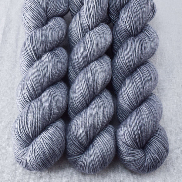 Dark Slate - Miss Babs Yummy 3-Ply yarn - Destash Clearance