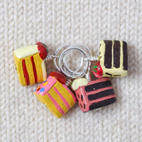 Slice of Cake Stitch Markers