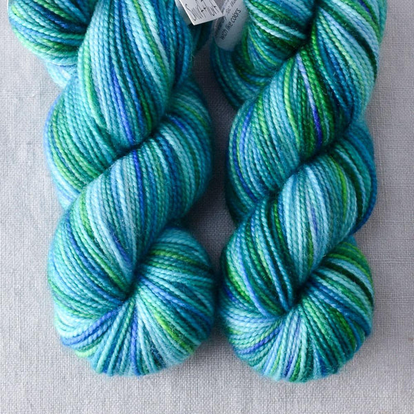 Smurf and Turf - Miss Babs 2-Ply Toes yarn