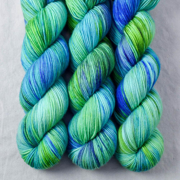 Smurf and Turf - Miss Babs Yummy 3-Ply yarn