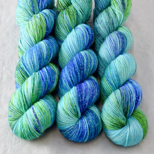 Smurf and Turf - Miss Babs Estrellita yarn