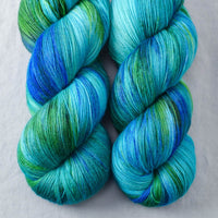 Smurf and Turf - Miss Babs Katahdin yarn