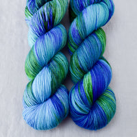 Smurf and Turf - Miss Babs Keira yarn
