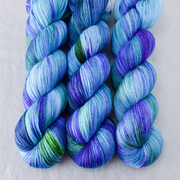 Smurf and Turf - Miss Babs Tarte yarn