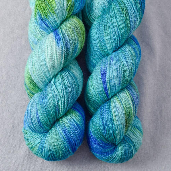Smurf and Turf - Miss Babs Yearning yarn