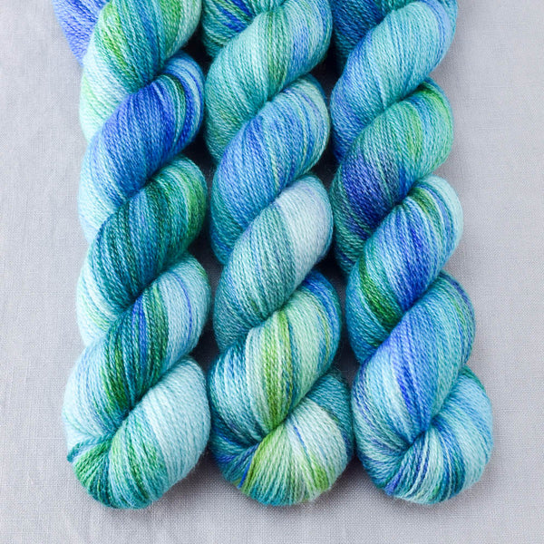 Smurf and Turf - Miss Babs Yet yarn
