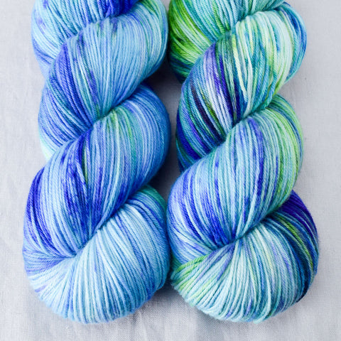 Smurf and Turf - Miss Babs Yowza yarn