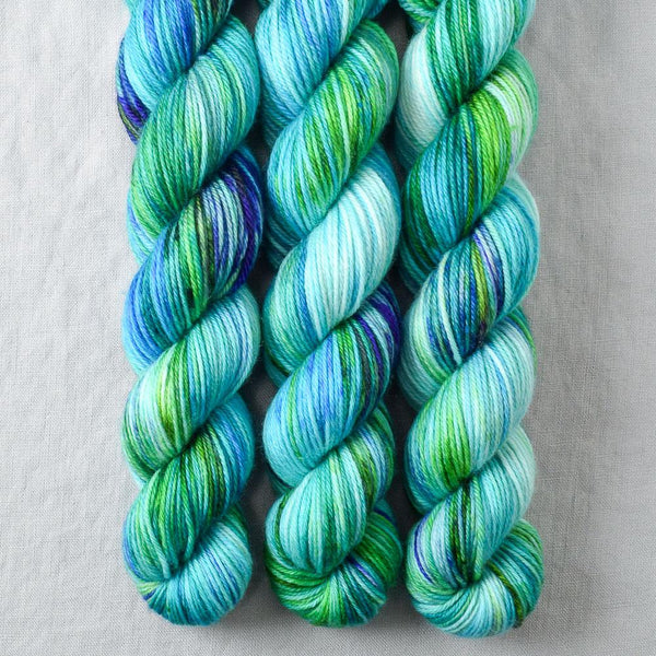 Smurf and Turf - Miss Babs Yowza Mini yarn