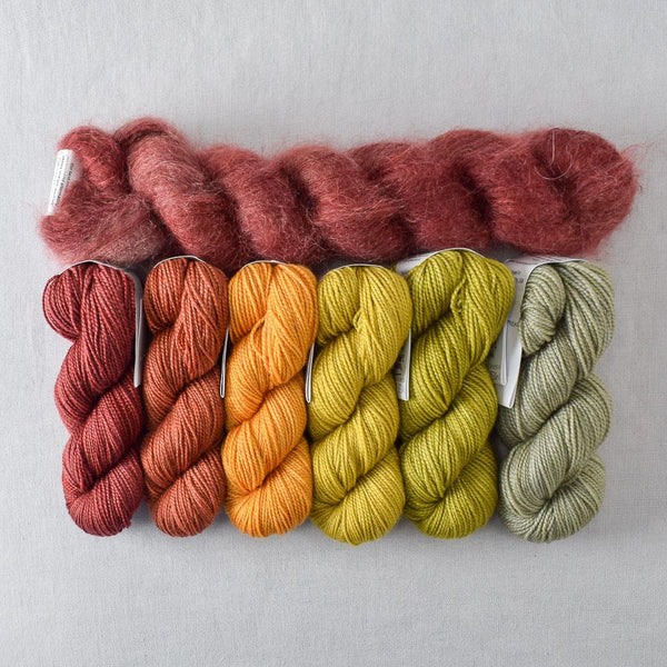 Spice Market Gradient and Sumach Moonglow - Miss Babs Autumn Mist Set